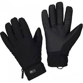 M-Tac перчатки зимние softshell Thinsulate черные
