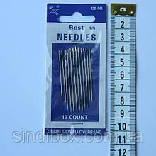 045 Голки ручні NEEDLES (Голки для ручного шиття) (657-Л-0016)