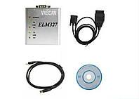Адаптер сканер OBD2 ELM327 USB metal (оригинал), фото 1