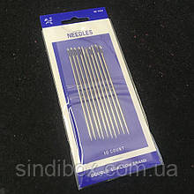 Циганські голки для шиття NEEDLES (0524) 10шт. (657-Л-0367)