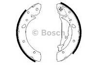 Колодки тормозные барабанные TOYOTA AVENSIS задние (Bosch). 0 986 487 572