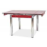 Стеклянный стол GD-082 78766, цвет - красный