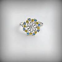 1035 Кольцо Украинка серебро 925 пробы от производителя