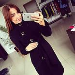 """Женское модное кашемировое пальто в расцветках """"Волна"""" (размеры 42, 44, 46, 48), фото 3"""