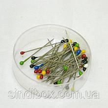 Кравецькі шпильки (гвоздики з кулькою) для шиття 25мм (657-Л-0050)