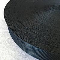 Стропа сумочная-ременная, 3,8см (бухта 50 ярд.темно-синяя) (653-Т-0006)