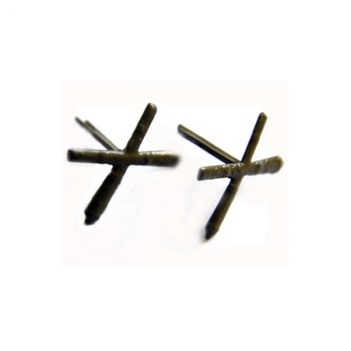Эмблема Артиллерийских войск СССР (полевая, металл)