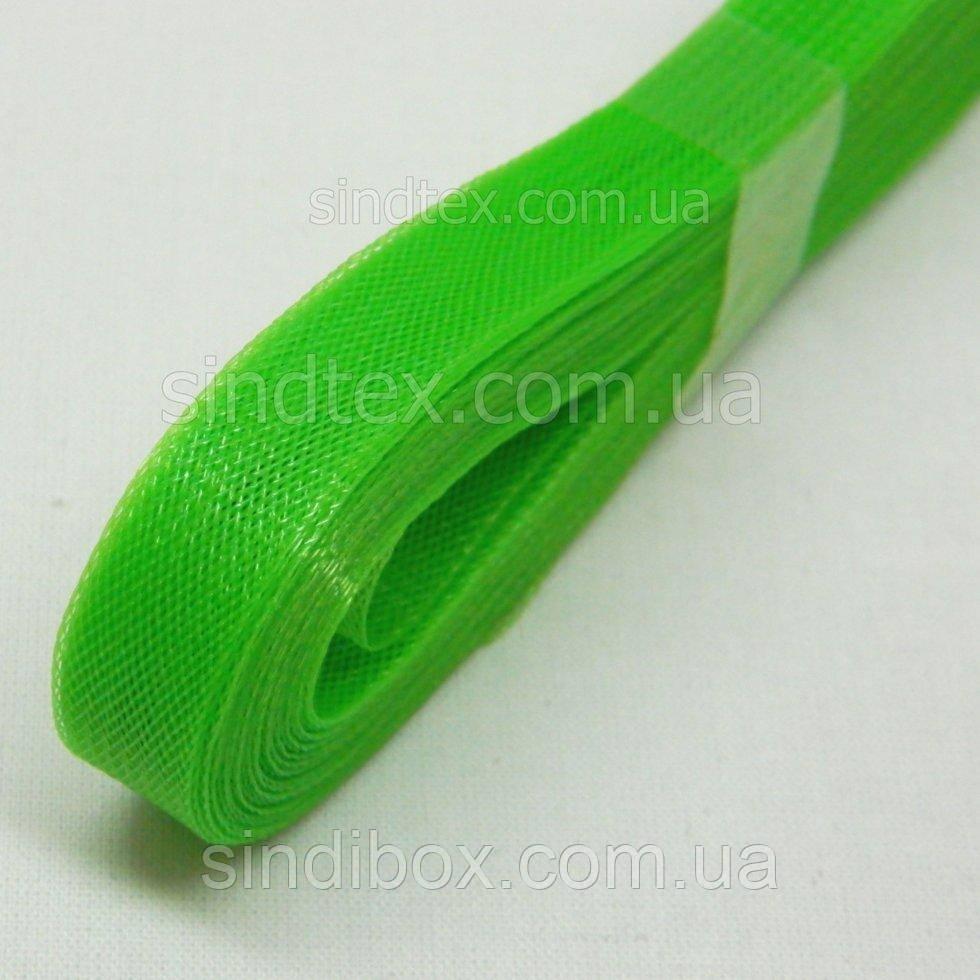 1,2 см Регилин (крінолін) колір 01 (зелений) (653-Т-0299)