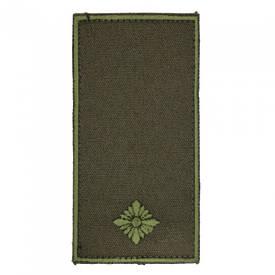 Погон на липучке / муфте нового образца Младший лейтенант (олива)