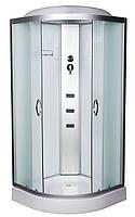 Гидробокс 90х90 Vivia 61 RC низкий поддон, матовое стекло