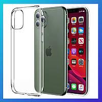 Защитный чехол Apple iPhone 11 Pro Max, чохол силиконовый Ultra slim, фото 1