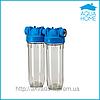 Фильтр для холодной воды  10 DP - DUO  1/2,3/4,1