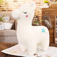 Мягкая игрушка Белая лама, 40см Berni