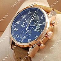 Часы мужские TAG Heuer Carrera 1887 SpaceX Quartz Gold/Black-White 2128