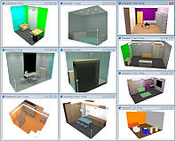 Проектирование освещения (до 20 помещений)