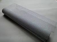 Белая металлизированная сетка с переливом (ML)