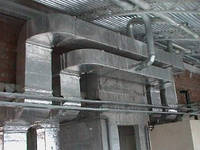 Фольгированная  изоляция из вспененного химически сшитого полиэтилена для систем вентиляции
