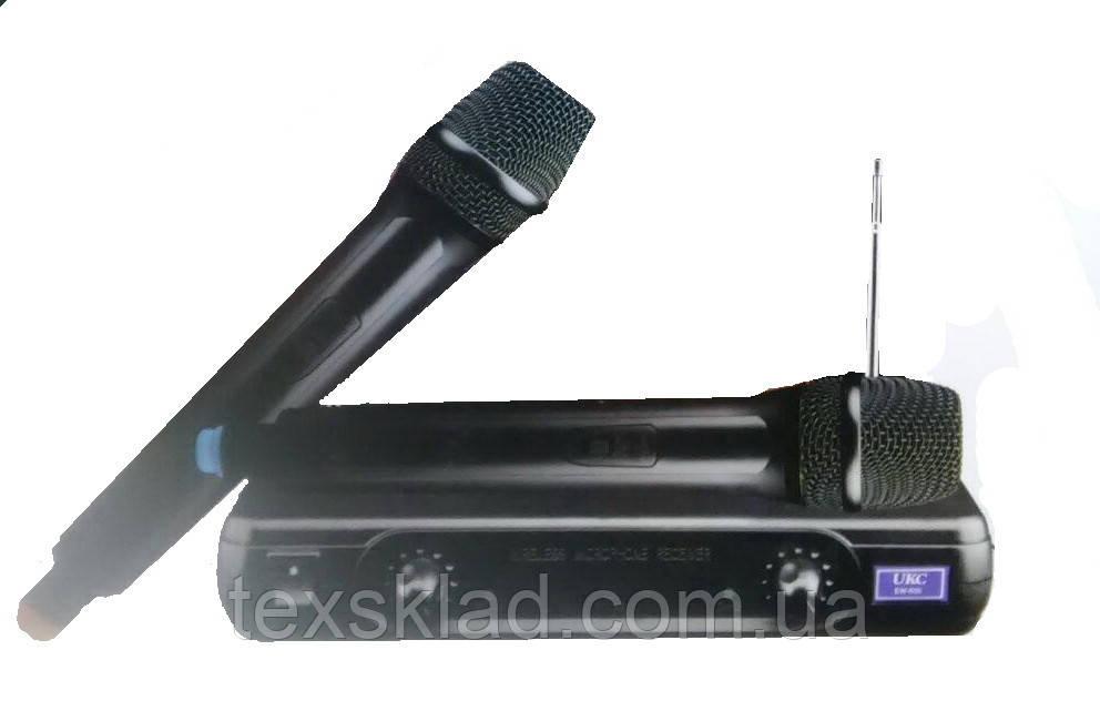 Радиомикрофон UKC-500 для караоке