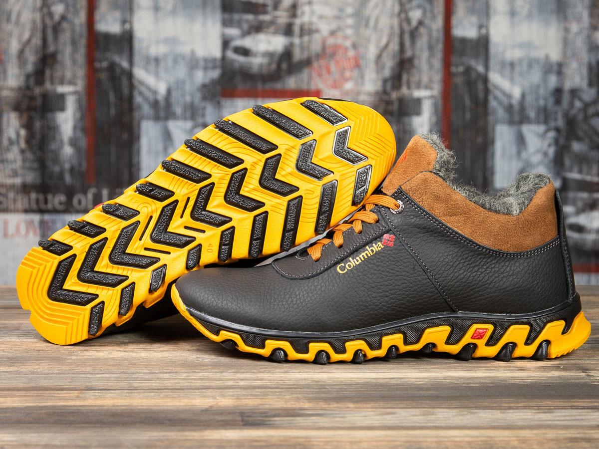 Зимние мужские ботинки 30692, Columbia Track II, черные , (размер 41 - 27,0см)