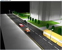 Проектирование освещения (наружная сцена), фото 1