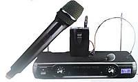 Комплект радиомикрофонов (ручной + головной) UKS-500