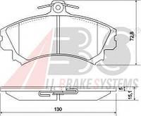 Колодки тормозные MITSUBISHI/VOLVO SPACE/S40/V40 передние (ABS). 36919