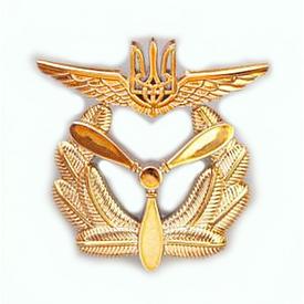 Кокарда ВВС подразделения вертолетов (парадная, пластик)