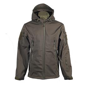 Куртка Softshell Chameleon с капюшоном олива