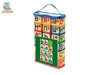"""Кубики """"Азбука - раскраска"""""""