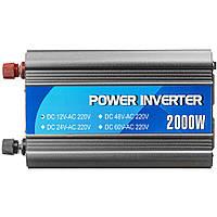 Автомобильный инвертор 12V/220V 1000W PORTO (MND-1000), фото 1