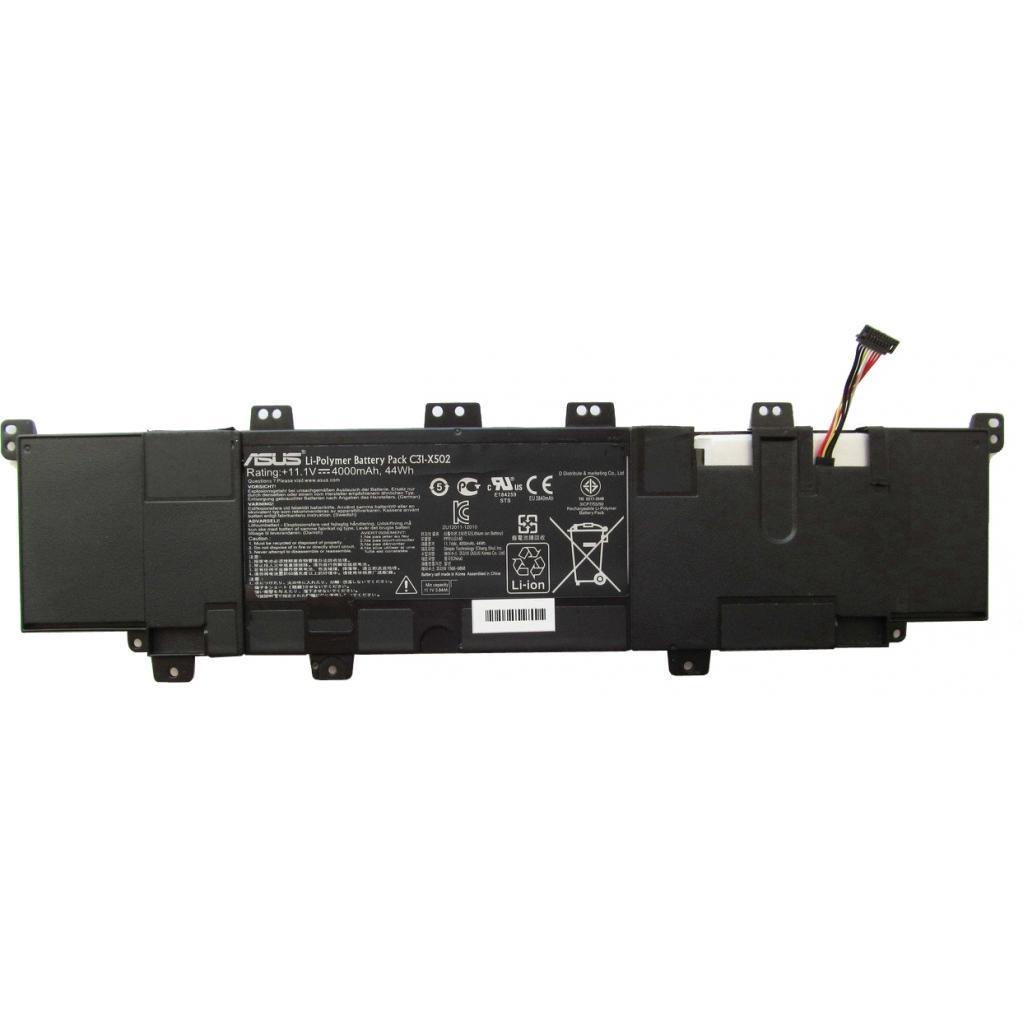 Аккумулятор для ноутбука ASUS PU500 C31-X502, 4000mAh (44Wh), 3cell, 11.1V, Li-ion, черная (A47341)