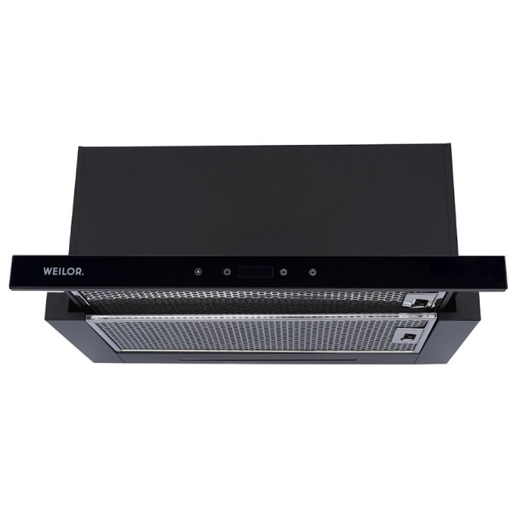Вытяжка кухонная WEILOR PTS 6140 BL 750 LED strip