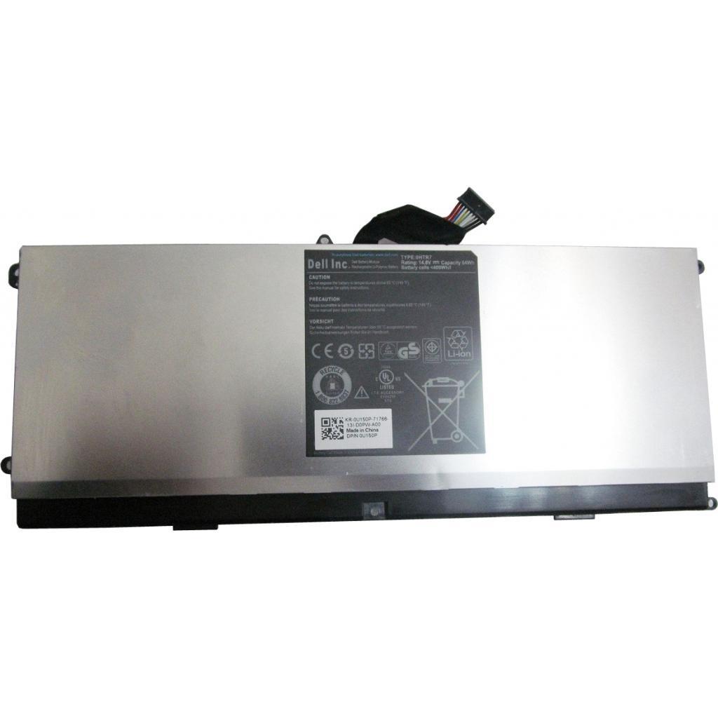 Аккумулятор для ноутбука Dell XPS 15z (L511Z) 0HTR7, 64Wh (4000mAh), 8cell, 14.8V, Li-Pol, (A47123)