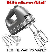 Миксер ручной KitchenAid 5KHM9212ECU серебристый, фото 1