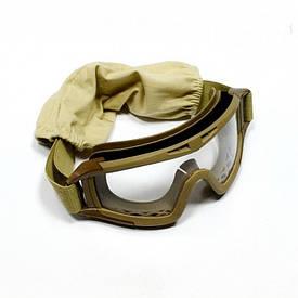 Очки маска Desert 3 линзы