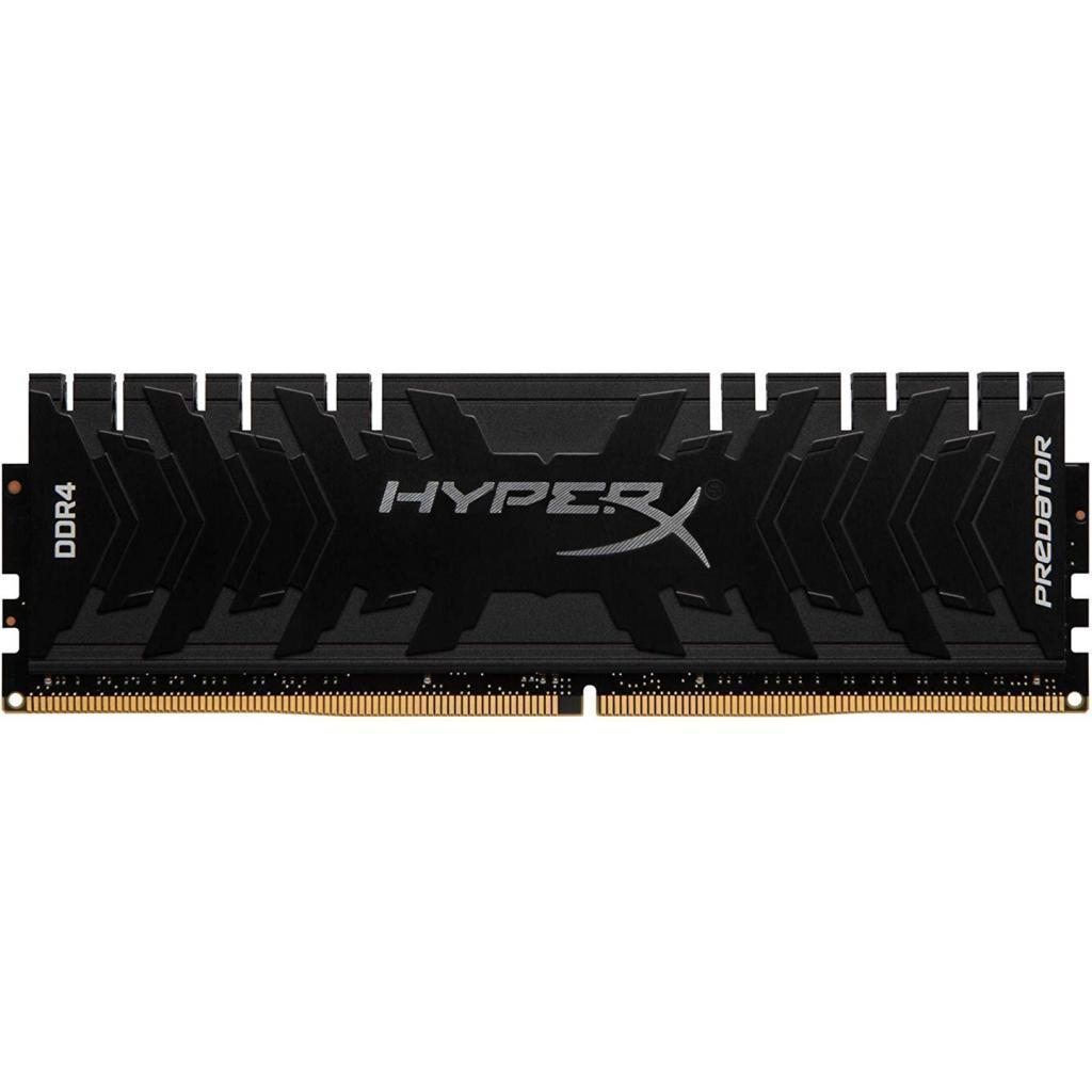 Модуль памяти для компьютера DDR4 16GB 3200 MHz HyperX Predator Black Kingston (HX432C16PB3/16)