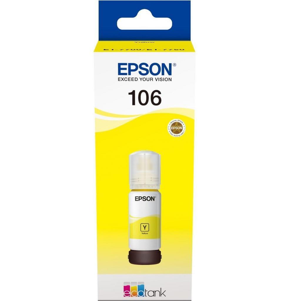 Контейнер с чернилами EPSON L7160/L7180 yellow (C13T00R440)