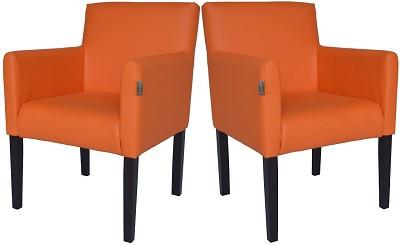 Кресло Остин оранжевое - картинка