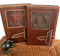 Авторский кожаный блокнот, фото 1
