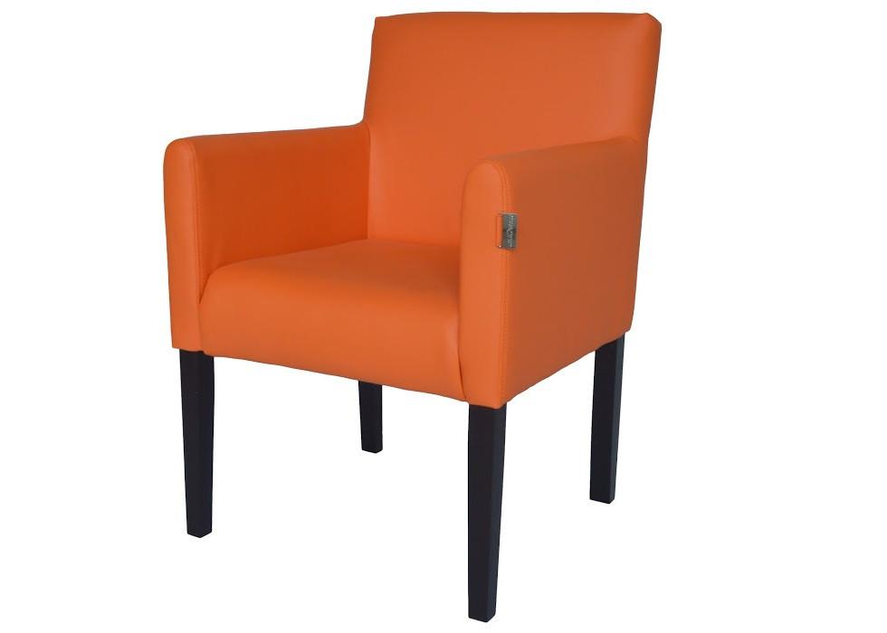 Кресло Остин оранжевое Rich
