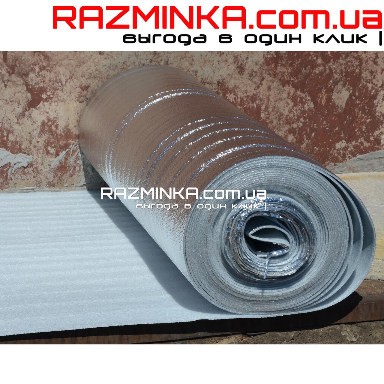 Вспененный полиэтилен ламинированный 8мм (50м2)