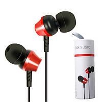 Наушники RXIX RX-E2 вакуумные оригинальные Red
