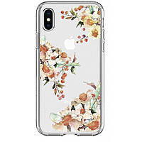 Чехол для моб. телефона Spigen iPhone X Liquid Crystal Aquarelle Primrose (057CS22785), фото 1