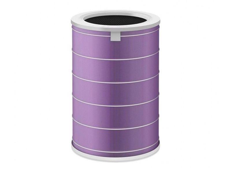 В наличии Фильтр XIAOMI MCR-FLG для очистителя воздуха MI HEPA, антибактериальный, фиолетовый