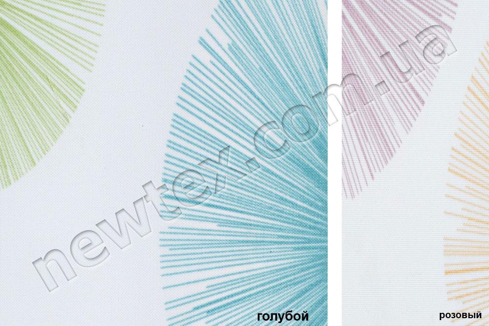 Ролеты тканевые открытого типа Салют (2 цвета)