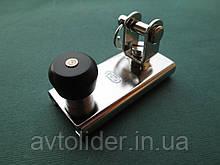 SPRENGER - Нержавеющая каретка с вилкой и фиксатором для погона 25х4 мм.