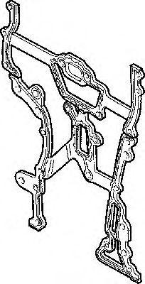 Прокладка картера рулевого OPEL X10XE/X12XE/Z10XE/Z10XEP/Z12XE/Z12XEP/Z14XEL (Elring). 476.790