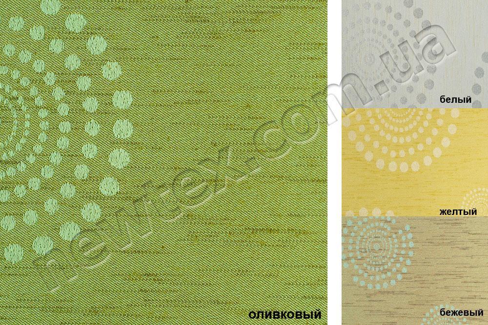 Ролети тканинні відкритого типу Орбіта В/О (4 кольори)