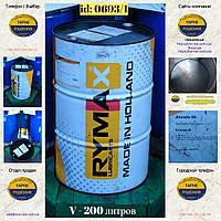 0693/1: Бочка (200 л.) б/у металлическая ✦ Жидкость для АКП