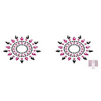 Пестіси Petits Joujoux Gloria set of 2 - Black/Pink, фото 1